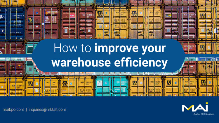 A few pointers to boost warehouse productivity